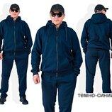 Спортивный теплый костюм Батал Размеры 58-60, 62-64 Материал трехнить пр-во Корея