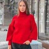 Теплый свитер 42 - 46 шесть расцветок
