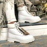 Ботинки зимние Timb натуральный мех