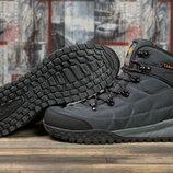 Зимние кроссовки на меху, темно-серые Код 31021