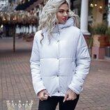 Зимняя куртка Модель 7255.Ткань - плащевка, синтепон 250, подкладка Куртка на змейке и кнопках