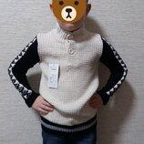 Модный, теплый, шерстяной свитерок р. 140,152, скидка