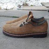 Кожаные туфли мокасины ботинки Meindl 43 р. Оригинал