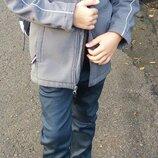 Кофта куртка scout флис на подкладе,очень классная для школы