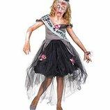 Королева бала ведьма 140-152 костюм зомби