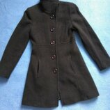 Коричневе осіннє весняне пальто коричневое осеннее весеннее пальто