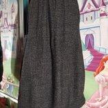 Французский шик.Шерстяная юбка ассиметрия от Cotеlac потрясающий крой р.2