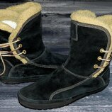 Timberland shearling оригинальные, кожаные, невероятно крутые ботинки