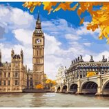 Картина по номерам Идейка. Осенний Лондон KHO2134