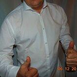 Стильная нарядная брендовая рубашка Primark Примарк .л .