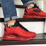 Мужские кроссовки термо Nike Air MX 720-818 красные