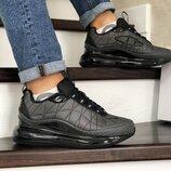 Мужские кроссовки термо Nike Air MX 720-818 серые