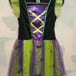 Платье карнавальное хеллоуин hellowin ведьма F&F 6-8 лет р.116-128