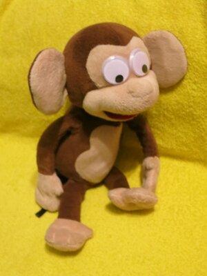 Обезьяна.мавпа.мартышка.мягкие игрушки.мягка іграшка.интерактивная игрушка.IMC toys.Fufris