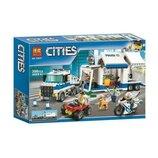 Детский конструктор Bela Cities 10657 Мобильный командный центр
