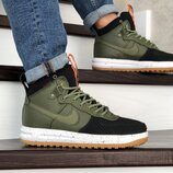 Кроссовки мужские Nike Lunar Force 1 Duckboot dark green