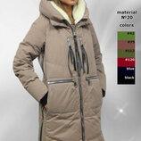 Куртка зима на любой вкус и цвет на силиконе р-ры 44 46 48