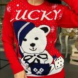 Хит Яркий свитер Lucky р42-48