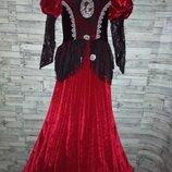 Платье карнавальное ведьма 146,152