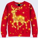 Яркий Праздничный 3D Рождественский олень Большой выбор