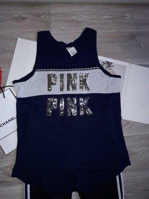 Victoria's Secret Pink Майка накидка спортивная . р л