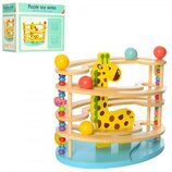 Дерев'яна іграшка Гра MD 1530 кульки 3 шт., лабіринт, кор., 30,5-28-18,5 см.