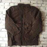 Курточка пальто зима со съемной подкладкой большой размер