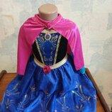 Платье карнавальное холодное сердце Frozen Анна TU 3-4 г р.104
