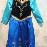 Платье карнавальное холодное сердце Frozen Анна Disney 3-4 г р.104