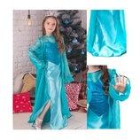 Новогодний костюм Эльза Холодное сердце от 8 до 11 лет, очень классное платье.