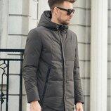Зимняя стильная куртка 2 цвета