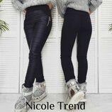 . Теплые штаны с карманами Размеры - S, M, L, XL Ткань - Плащевка Синтепон