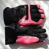 Детские горнолыжные перчатки Reusch Torben R-TEX XT Junior Черно-розовые