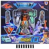 Робот TOBOT GIGA з музикою та світлом в коробці Q1905