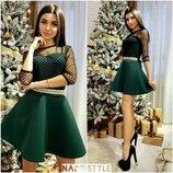 Нереально красивое платье 42-44р. 33 цвета