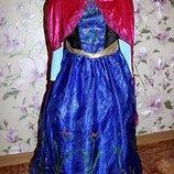 Платье Анны фрозен холодное сердце Frozen