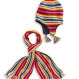 Набор шапка на флисе и шарф C&A