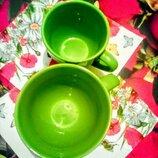 Набор дуэт чашки кофейная чашка чайная чашка
