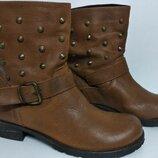 Ботинки женские кожаные Vera Gomma Италия