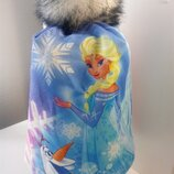 Frozen шапка теплая фроузен Анна и Ельза Олов для девочки