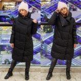 Женская куртка зимняя, теплая, влагоотталкивающая, утеплитель Био-Пух не вызывает аллергии