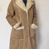 Шикарная дублёнка тренч пальто Orsay L