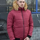 Зимняя куртка LC - Pilot бордо
