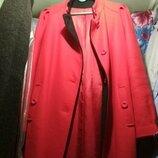 Пальто шерсть не приталене