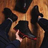 Ботинки мужские Дест чорні код 4550
