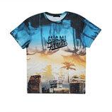 Мужская футболка цветная сочная Miami Beach Cedar Wood State M