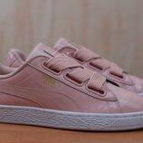 Женские розовые кеды, кроссовки Puma Basket, пума, 37 размер. Оригинал