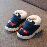 Новиночки Детские ботиночки зима, размеры 17- 22