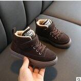 Новиночки Детские ботиночки зима, размеры 27- 34