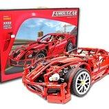 Конструктор Decool 3333 Ferrari 599 GTB Fiorano. Техник аналог Lego Technic 8145